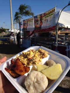 with fried dumplings | Recipe | Fried Dumplings, Dumplings and Jamaica ...