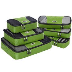Buy Packing Cubes,Cube Bags For Travel & Lightweight 3 pcs Luggage Organizer Cubes