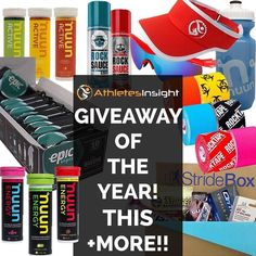 FREE ENTRY! Our BIGGEST Giveaway of the Year now includes Orange Mud!! Win all this and MORE in our running products giveaway. Enter at http://ift.tt/2gwkJuM or just click the link in the bio   The more entries you have the more likely you are to win! So LIKE & SHARE!!! Love you all