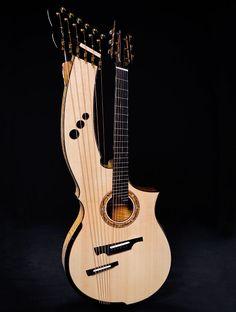 2008, Greenfield Guitars, The Harp - HG1.2