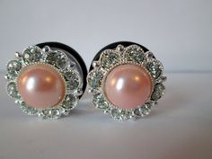 Hey, I found this really awesome Etsy listing at https://www.etsy.com/listing/178426878/silver-sparkles-with-pale-pink-centers