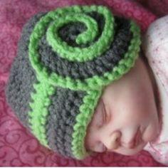 Celestial Swirl Baby Hat