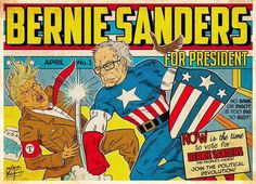 Zealot People who are diehard fans of bernie make things like this and want him as president