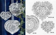 Kingdom Hearts Free Crochet Patterns : 1000+ images about Crochet - Hearts on Pinterest Crochet ...
