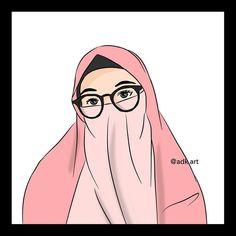 Islamic Cartoon, Anime Muslim, Hijab Cartoon, Mata Hari, Muslim Girls, Cartoon Art, Anime Couples, Art Girl, Disney Characters