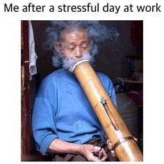 Me After a Stressful Day at Work From RedEyesOnline.net