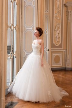 Jillian 2015 #Wedding Dresses — Iris Bridal Collection #weddings #weddingdress #bridal See more at: http://www.weddinginspirasi.com/2014/11/08/jillian-sposa-2015-wedding-dresses-iris-bridal-collection/