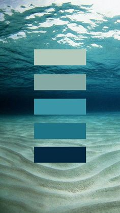 Passion Fury - Wall Art, Christian T-shirts & Creative Stuff! Beautiful blue palette - somehow underwater and vintage all at the same time Blue Palette, Colour Pallette, Colour Schemes, Ocean Color Palette, Beach Color Schemes, Website Color Palette, Color Palate, Ocean Colors, Colours