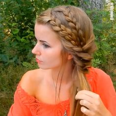 New hair styles hair dos for wedding, bridal hair, mom hairstyles, pretty hairstyles Prom Hairstyles For Long Hair, Pretty Hairstyles, Easy Hairstyles, Girl Hairstyles, Hairstyles 2018, Wedding Hairstyles, Perfect Hairstyle, Hair Videos, New Hair