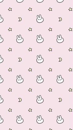 Kawaii bunny wallpaper by Hexstly - 7fc2 - Free on ZEDGE™