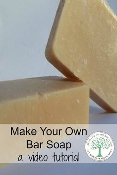 Skip the questionable chemicals in store bought soap, save money and learn to make your own bar soap. This video tutorial will get you on the path, step by step to making your soap in an hour! The Homesteading Hippy #homesteadhippy #fromthefarm