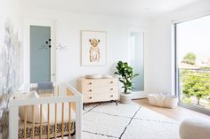 """My goal was to design a nursery that felt sophisticated while still maintaining that childish innocence."""