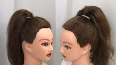 ponytail hairstyles Easy Trick to do Bouncy High Ponytail Box Braids Hairstyles, Ponytail Hairstyles Tutorial, Short Shag Hairstyles, Simple Ponytail Hairstyles, Medium Hair Ponytail, Viking Hairstyles, Grunge Hairstyles, Vintage Hairstyles Tutorial, Tomboy Hairstyles