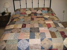 Beautiful  Mish Mash King size Quilt by MountainQuilts on Etsy, $400.00