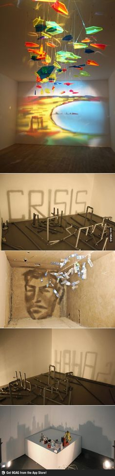 That is the coolest thing I have ever seen- Shadow Art