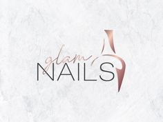 Welcome to Design Loock Studio! :) This professional pre made logo design is suitable for nail salons and nail artist business. It works lovely as a watermark too. Only two revisions included for the premade logos. Studio Logo, Nail Salon Names, Nail Salon Design, Nail Logo, Nail Store, Logo Design, Artist Logo, Nail Art Studio, Floral Logo