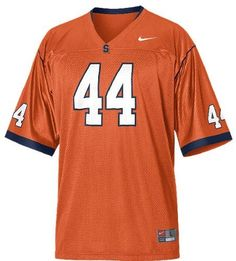 Buy Nike Syracuse Orange Retired Replica Football Jersey - Orange from the  official Syracuse University Fan Store. Syracuse Fans Buy Nike Syracuse  Orange ... 649bc851c