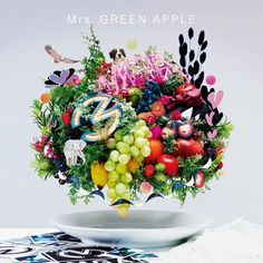 Green Apple - Present (Japanese Ver. Apple Song, The Band Songs, Shinra Kusakabe, Upcoming Anime, Apple 5, The Balloon, Theme Song, Fun To Be One