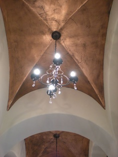 Copper Ceiling faux finish - would be icing on the cake