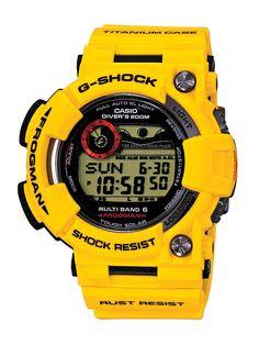 """Casio """"Shock The World"""" Event feiert 30 Jahre G-Shock Big Watches, G Shock Watches, Luxury Watches, Cool Watches, Watches For Men, Wrist Watches, Casio Frogman, Casio G Shock Frogman, Patek Philippe"""