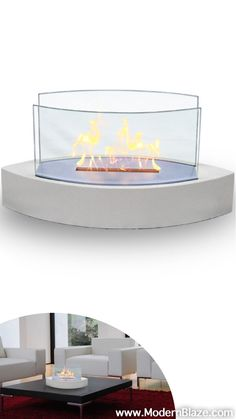 The Lexington Model Anywhere Fireplacetm Brings You All Tabletop Elegance Are Looking For With