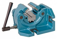 Able to be set up in both horizontal and vertical positions. Hardened and ground jaw inserts and V-block. Sturdy, cast iron design Ideal for most drilling and light milling operations. Bike Tools, Lathe Tools, Metal Tools, Old Tools, Home Workshop, Garage Workshop, Milling Machine, Machine Tools, Garage Apartment Floor Plans