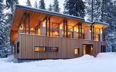Gorgeous/modern cabin.