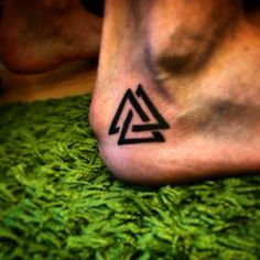 The Valknut is a nordic warrior symbol used by The Vikings. They painted the Valknut on their bodies to call the Valkyrie if they should fall in battle. Thus the worthy may enter Valhalla.