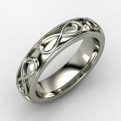 Gemvara Wedding Ring Style Men S Infinity Band Onewed