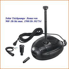 Solar Teichpumpe Roma von 900 l/h bis max. 1500 l/h 101734