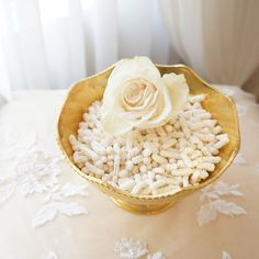 à la carte sofreh aghd design. FOR SALE: Sofreh Aghd Noghl Bowl   Vintage Scalloped Gold Bowl by prettypleasedesign, $55.00