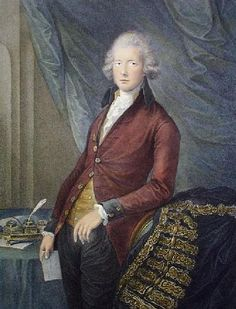 William Pitt (Restrike Etching) by G. Dupont - art print from King & McGaw