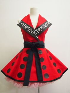 Made to OrderExterminate Apron by OliviasStudio on Etsy