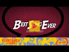 ▶ Best Song Ever (spanish version) - Kevin Karla & La Banda (Lyric Video) - YouTube