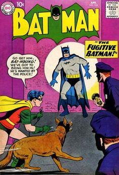 1959-04 - Batman Volume 1 - #123 - The Fugitive Batman #BatmanComics #DCComics #BatmanFan #Batman #ComicBooks