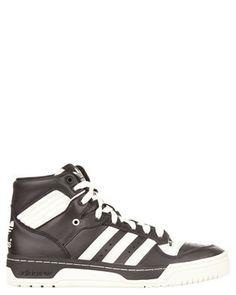 adidas Originals - Rivalry Hi - Sneakers (Black, Chalk
