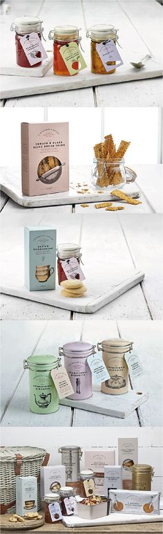 Cartwright & Butler. Classic British snacks. #Packaging #Design