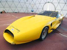 Front view of colani strasburg racing car, aerodynamics by luigi colani image ©designboom