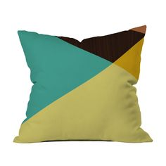 There's no better way to expand a small space than with geometric designs. This pillow does just that. Toss it on a white couch or bed for optimum effect. Choose either pillow with insert or cover only...  Find the Geometric Sensation Pillow, as seen in the Magnify Style Collection at http://dotandbo.com/collections/think-big-magnify-style?utm_source=pinterest&utm_medium=organic&db_sku=91622