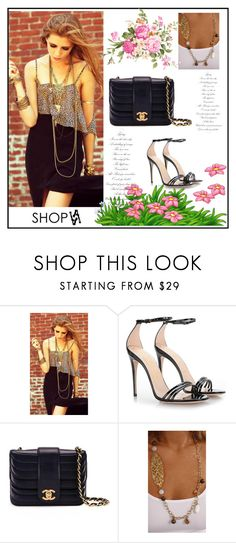"""""""ShopAA 9"""" by followme734 ❤ liked on Polyvore featuring Gucci, Chanel, polyvorecommunity and polyvorefashion"""