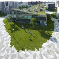 LANDLAB studio voor landschapsarchitectuur #greenroofs