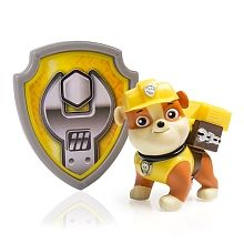 Paw Patrol - Action Pack Pup & Badge, Rubble