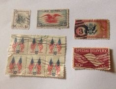 Practically Giving My Stamps Away! Used Lot Of 10  Lot# 10002    eBay