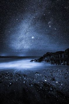 The fainter part of the milky way's centre, which is home to Orion as well as Sirius, the brightest star in the night sky