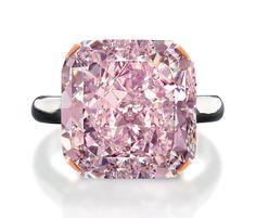 Birks will showcase this 10-carat fancy light purplish pink diamond at its  Edmonton store from April 13-17