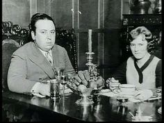 ALMA - ALFRED HITCHCOCK'S BETTER HALF:  Alfred Hitchcock and his wife, screen writer, Alma Reville.