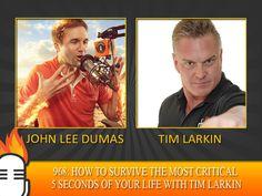 A sought after public speaker, Tim Larkin is rockin' the EOFire mic today!