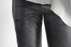 Leather Grunge Goth Dark Fashion #NitroFash