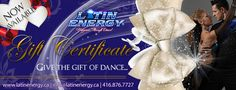 GIFT CERTIFICATE DANCE LESSONS