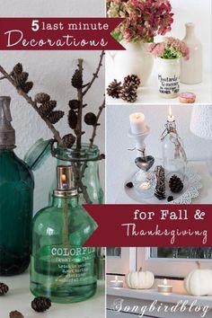 Last minute Thanksgiving decorating ideas | eBay